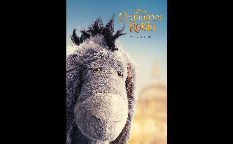 Poster of Eeyore, the gloomy donkey who is everyone's beloved