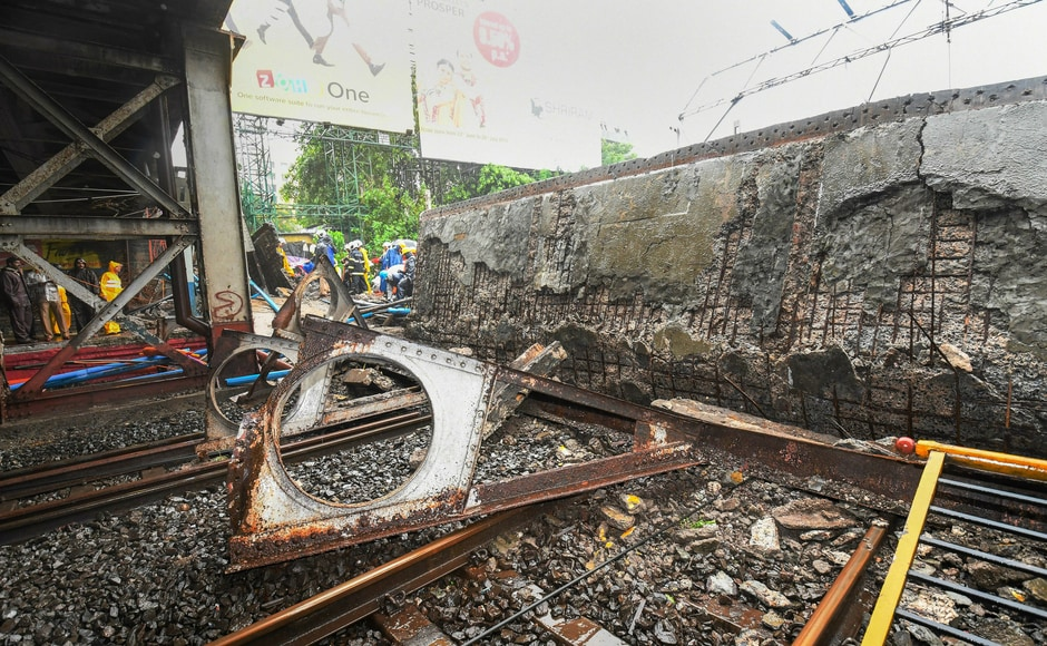 Ramesh Latke, who is an MLA of Andheri East constituency, said that the Gokhale Bridge, part of which collapsed on Tuesday morning, was built around 1976. The MLA said that the audit for the road overbridge was done recently after the Elphinstone bridge stampede. PTI