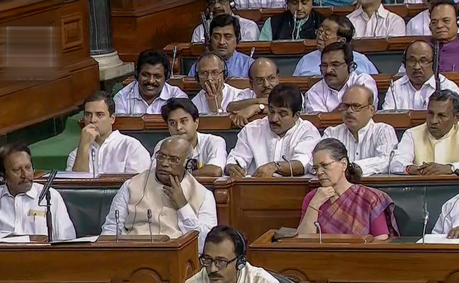 The Congress had a strategy meeting of its Lok Sabha MPs presided by Sonia Gandhi during which it was decided to attack the government on farm distress among other issues during the debate. PTI