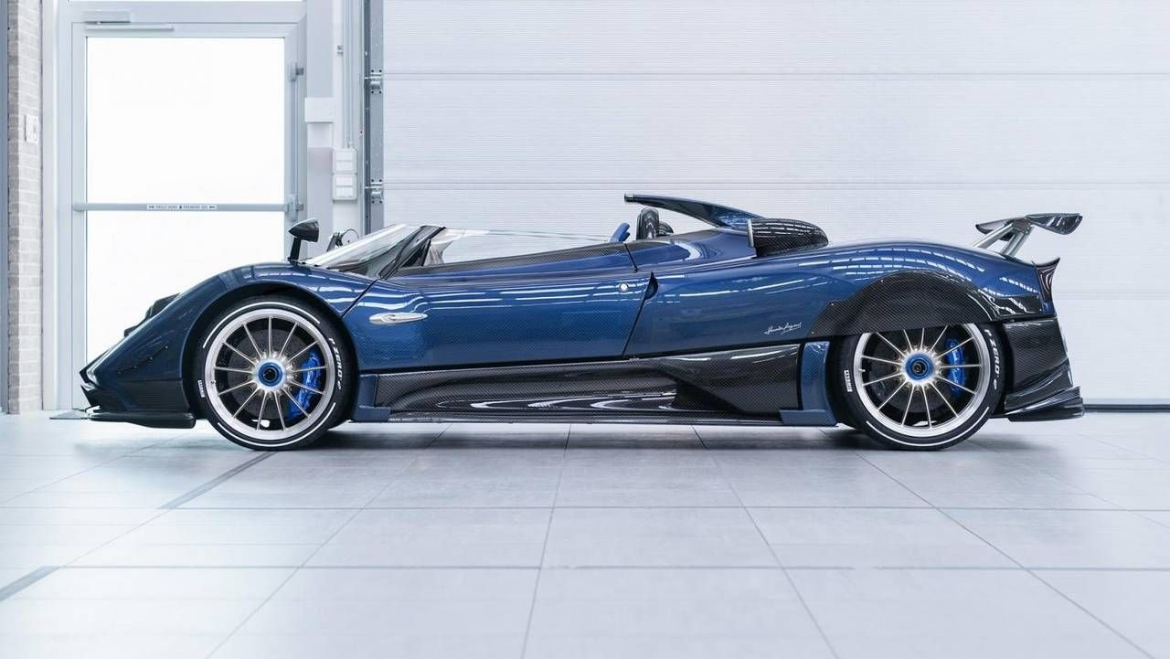 Italian carmaker Pagani introduces the world's most expensive car at €15 million