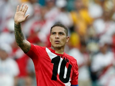 File image of Peru forward Paolo Guerrero. AFP