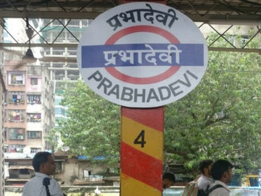 Elphinstone Station board replaced by Prabhadevi board on Wednesday night. Firstpost