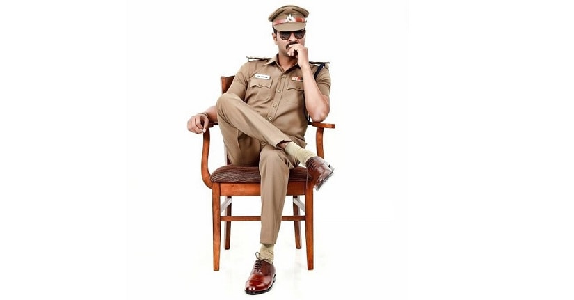First look of Prabhu Deva in Pon Manickavel. Image via Twitter