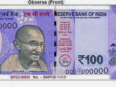 The new Rs 100 note was unveiled on 19 July this year. PTI