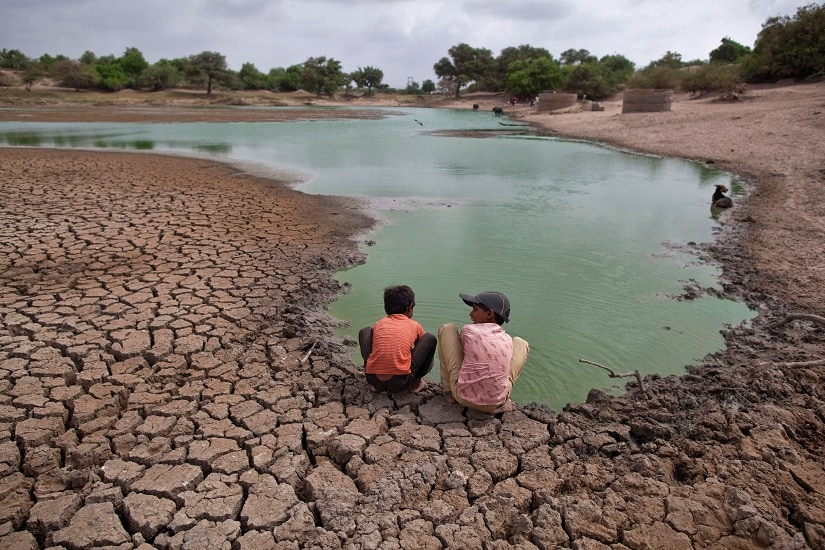 The World Bank study says that 1 in 4 South Asians will be affected by climate change — if emissions are cut. If not, 2 in 3 South Asians will be impacted. REUTERS/IMAGE FOR REPRESENTATION ONLY