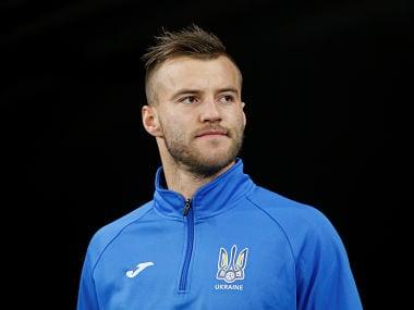 File image of Andriy Yarmolenko . Reuters