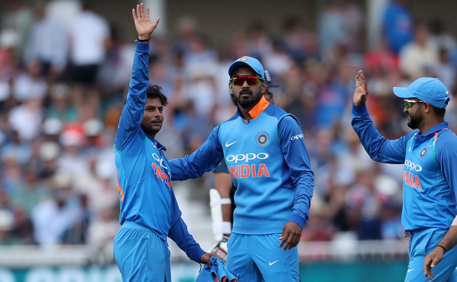 Left-arm wrist-spinner Kuldeep Yadav was once again proved to be the home side's nemesis as he spun his way to career best figures of 6 for 25. Reuters