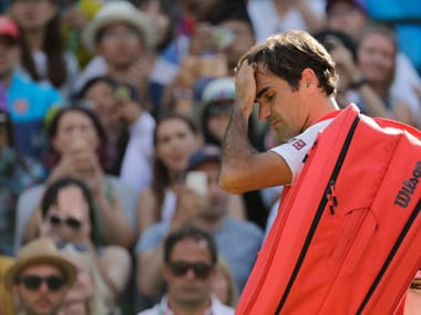 Roger Federer's announcement comes just weeks after being beaten by Kevin Anderson in the quarterfinals of Wimbledon. AP