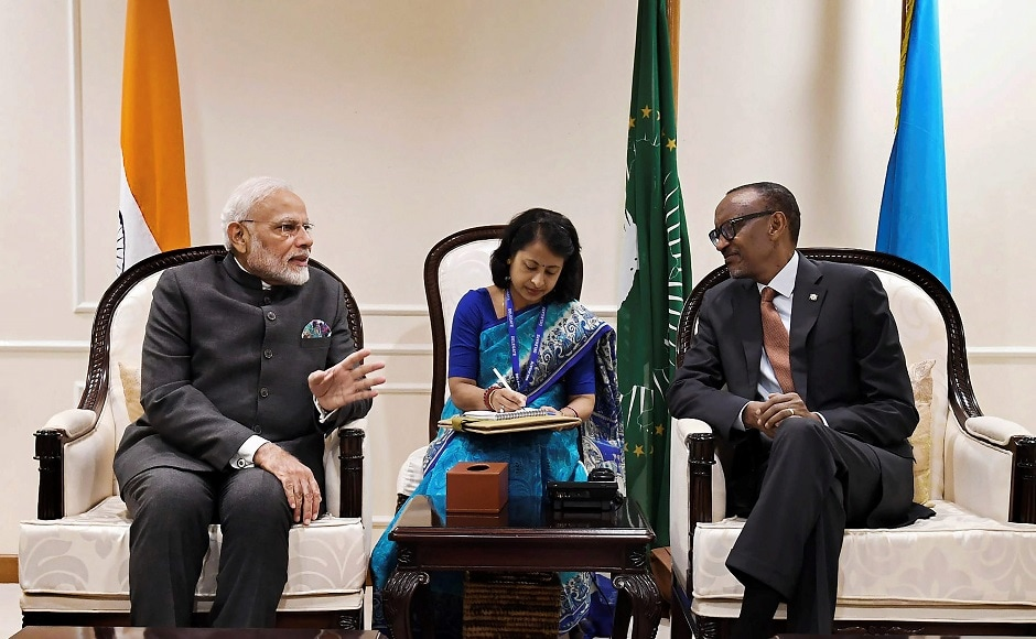 India has extended $200 million lines of credit to Rwanda for its economic development, signed a defence cooperation agreement and will soon open a High Commission in Rwanda. PTI