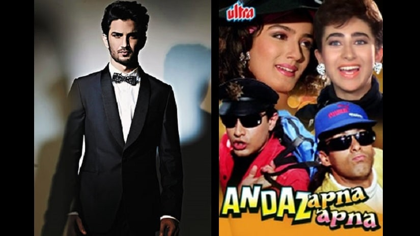 Sushant Singh Rajput is likely to star in the 1994 comedy Andaaz Apna Apna
