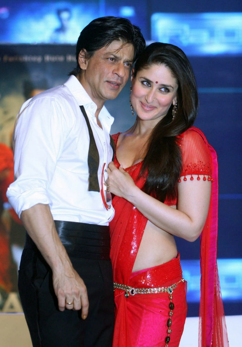 Shah Rukh Khan and Kareena Kapoor Khan/Image from Twitter.