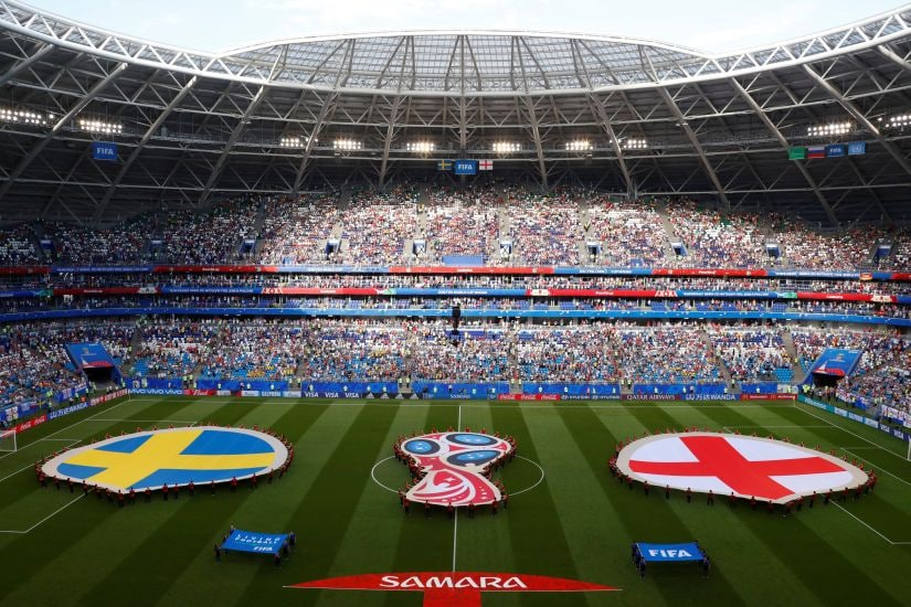 Russian Federation  players find solace in thousands of World Cup fans