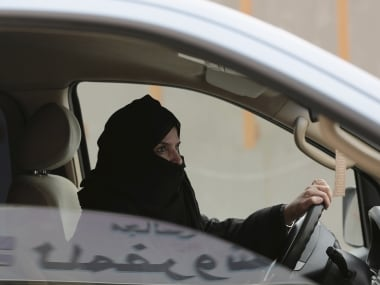 Days after Saudi Arabia lifts ban on female drivers, men opposed to move set womans car ablaze