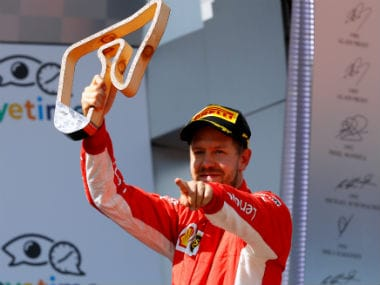 File image of Sebastian Vettel. Reuters