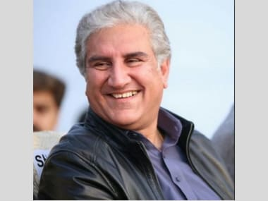 File image of PTI leader Shah Mehmood Qureshi.Twitter@@SMQureshiPTI