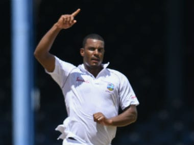 File image of Shannon Gabriel. AFP