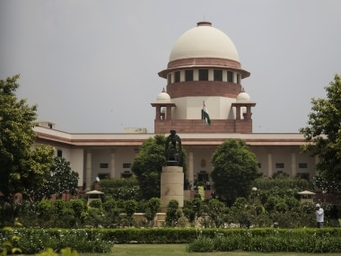 A view of Supreme Court of India. AP
