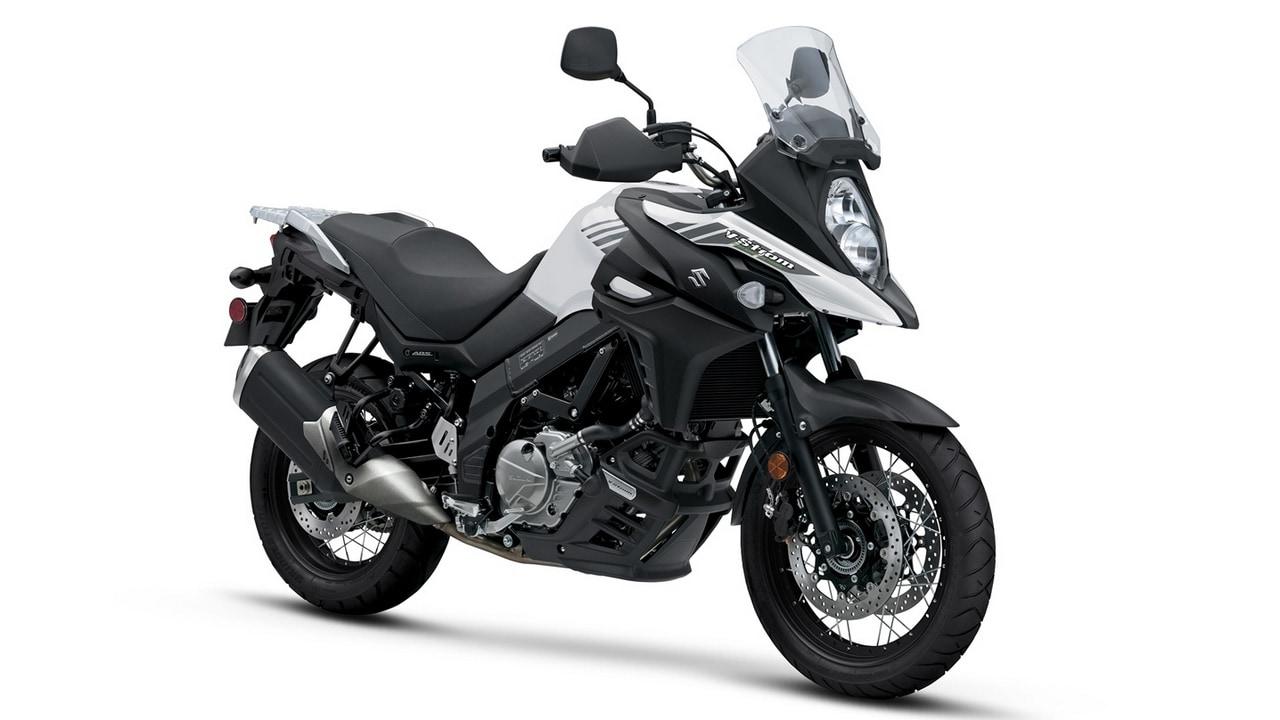 Suzuki V Storm 650 1280 White