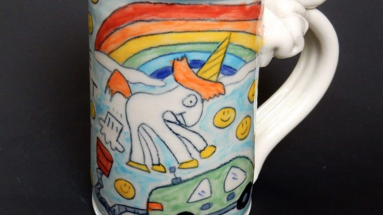 Elon Musk resolves farting unicorn copyright issue with US potter Tom Edwards