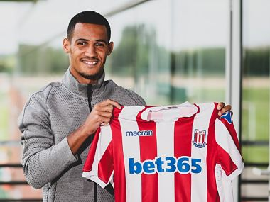 Stoke City have signed of Tom Ince from Huddersfield Town on a four-year contract. Image courtesy: Twitter @stokecity