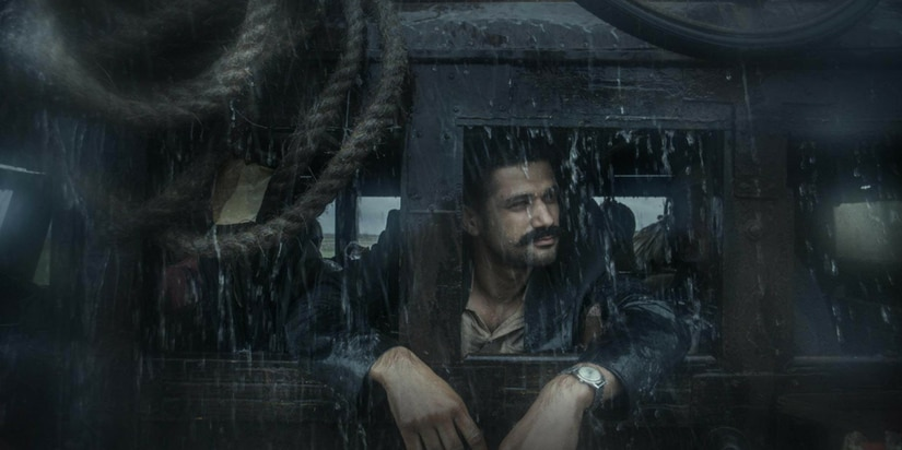 Sohum Shah in a still from Tumbbad/image from Twitter.