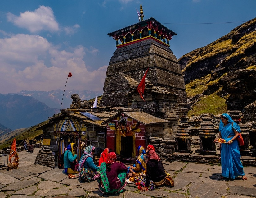 Tungnath temple is the highest Shiva temple in the world