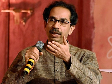 File photo of Shiv Sena chief Uddhav Thackeray. PTI