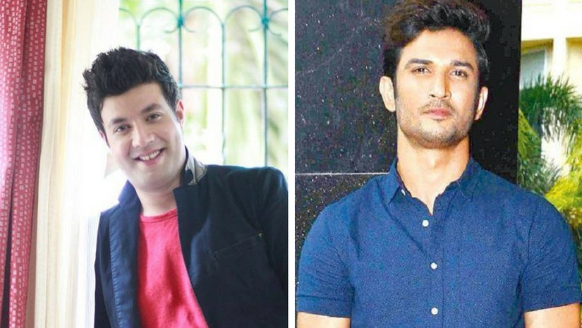 Varun Sharma (left) with Sushant Singh Rajput (right). Image from Facebook