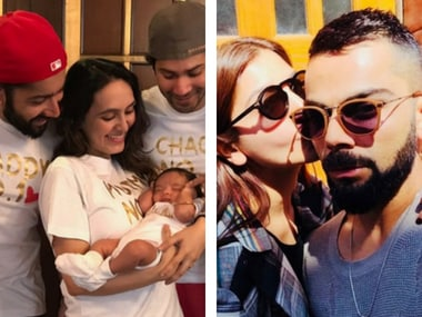 Varun Dhawan introduces niece on Instagram; Virat and Anushka's sun-kissed selfie: Social Media Stalkers' Guide