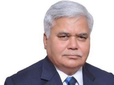 RS Sharma, chairman of Trai. Twitter/@rssharma3