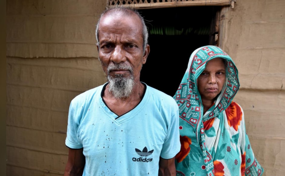 Several Bengali-speaking Muslims are likely to not find their names on the NRC, even though Assam has been their home for decades. Abdul Suban (pictured above) was categorised as a
