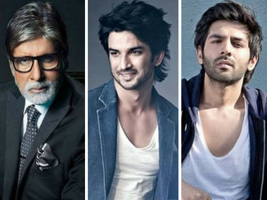 Sushant Singh Rajput, Kartik Aaryan reportedly in talks to join Amitabh Bachchan in Aankhen sequel
