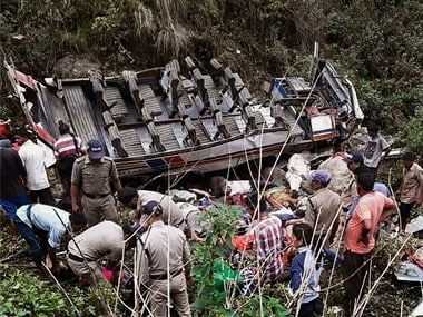 Uttarakhand bus accident: 48 killed, 10 injured as 'overloaded' vehicle falls into gorge in Pauri district; probe ordered