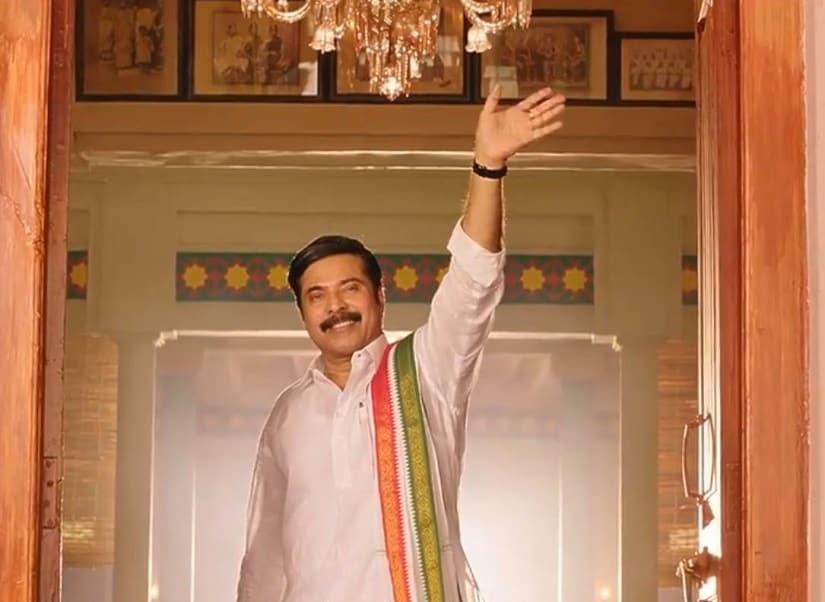 A still from Mammootty-starrer Yatra. YouTube screengrab