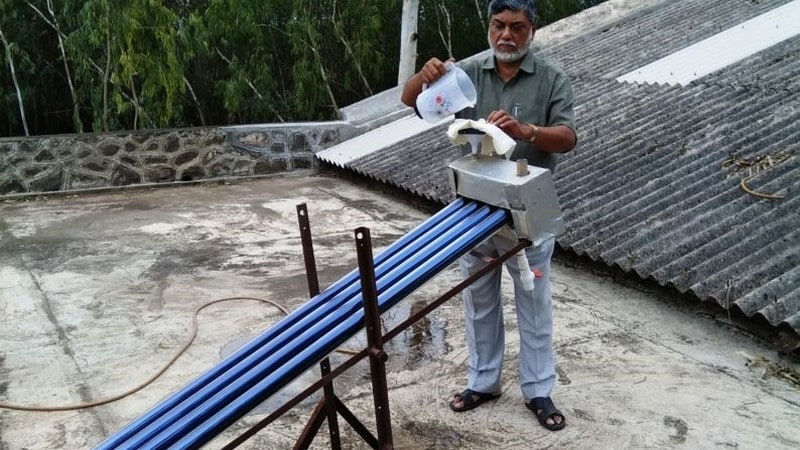 Indian scientists develop a unique low-cost solar water purifier