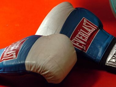 NEW ZEALAND - FEBRUARY 08: Stock Photography. Generic Boxing Image. Everlast boxing gloves and a medicine ball. (Photo by Ross Land/Getty Images)