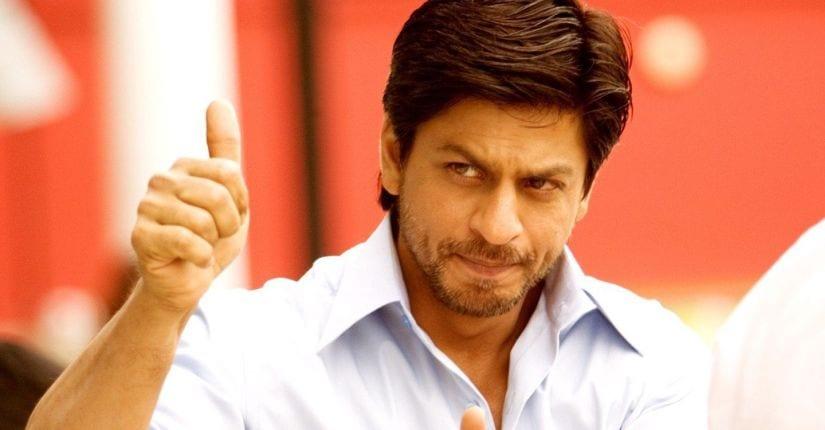 SRK in a still from Chak De! India