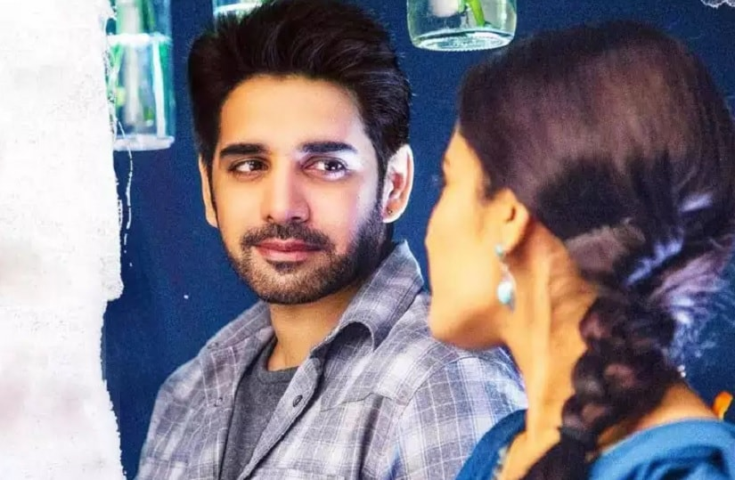 Sushantha and Ruhani Sharma in a still from Chi La Slow