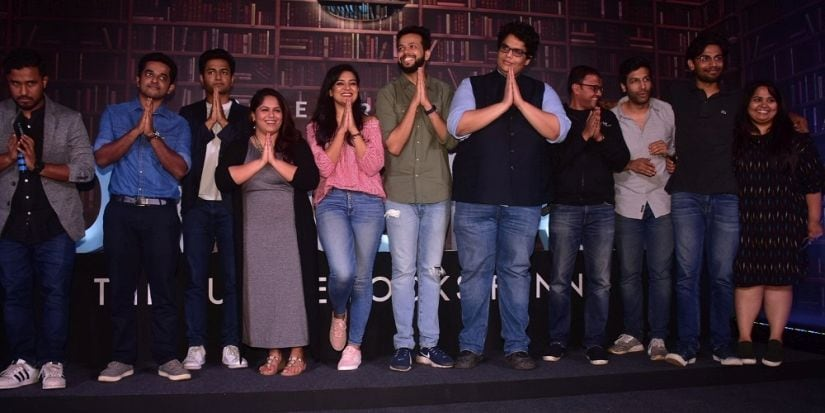 India's top comics welcoming the audience into Comicstaan at the trailer launch