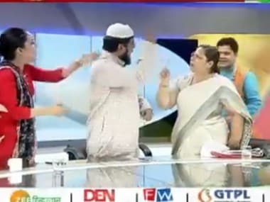 Lucknow Imam seeks ban on TV debates around Islam and Shariat after cleric slaps woman lawyer in live show