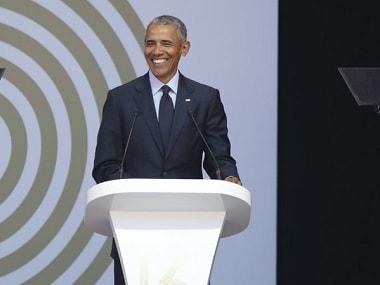 File photo of former US president Barack Obama. AFP/Getty Images