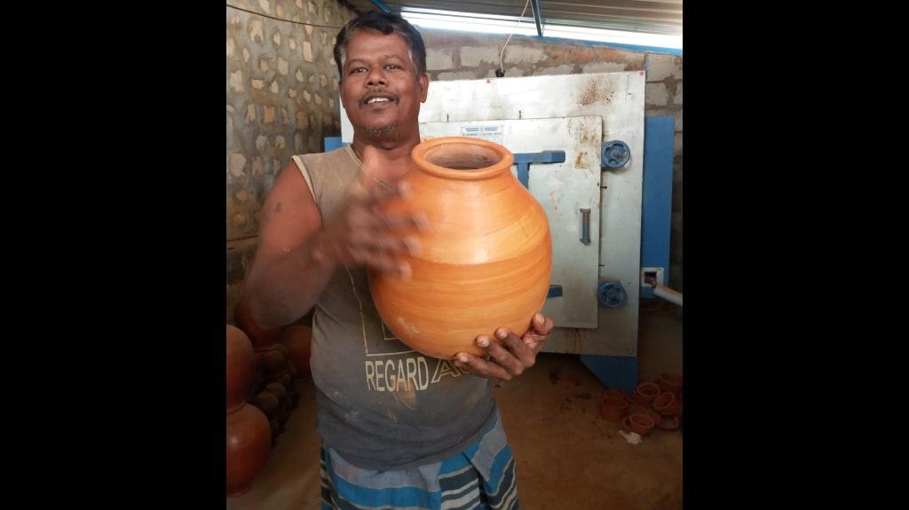 Ghatam maker UVK Ramesh