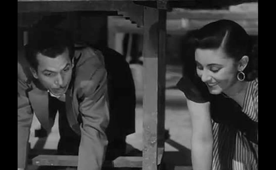 A still from Mr and Mrs. '55, a socially critical comedy film set in the then contemporary Bombay. YouTube screengrab.