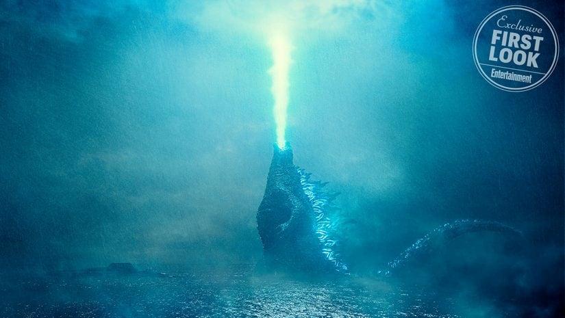 Godzill: King Of Monsters, Godzilla. Image via Warner Bros. and Legendary Entertainment