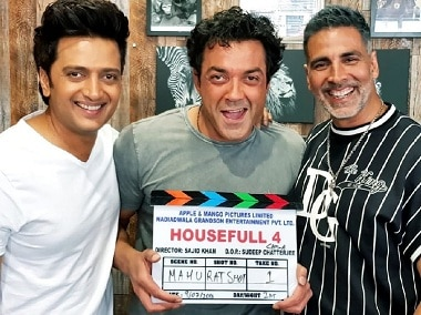 Housefull 4 shoot begins in London; Sajid Nadiadwala's team has a 25-day schedule in store