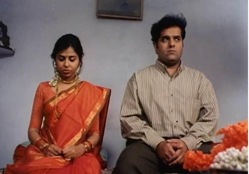 Elahe Hiptoola and Vikram Inamdar in a still from Hyderabad Blues. Kukunoor Movies