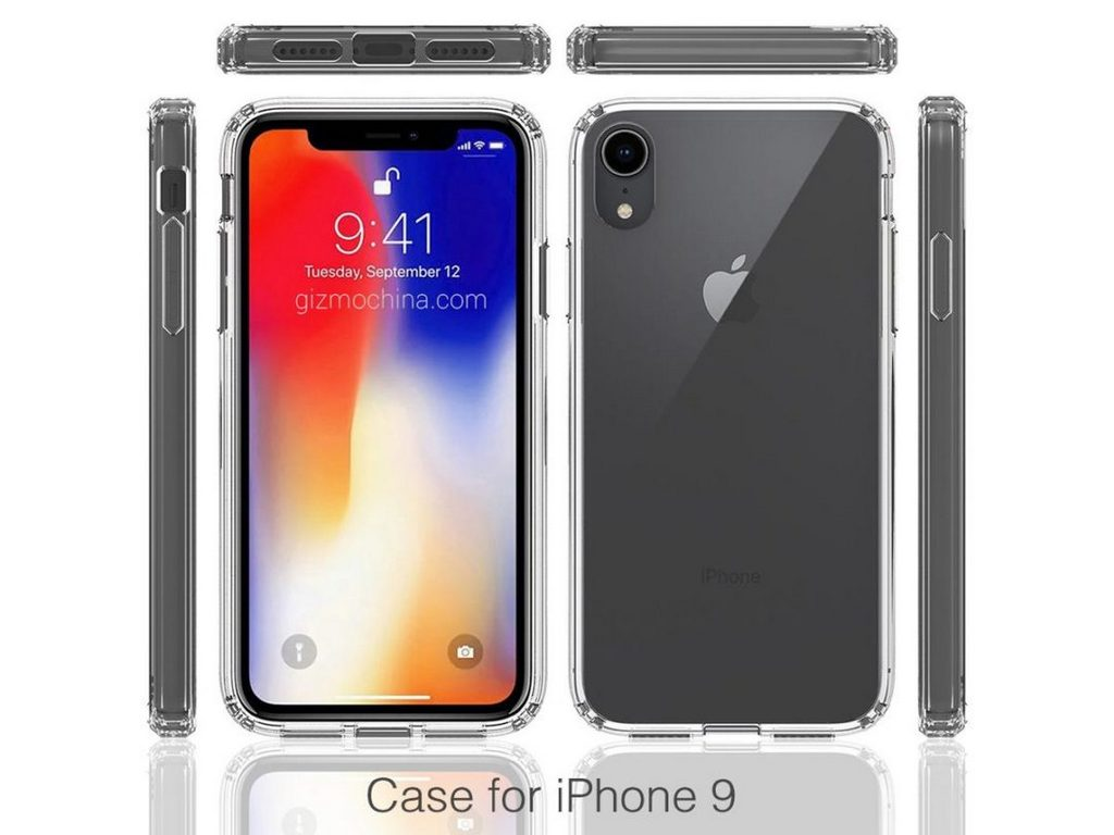 The leaked case renders of iPhone 9. Image: Gizmo China