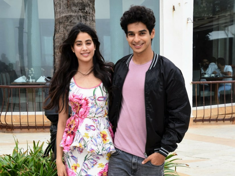 Janhvi Kapoor and Ishaan Khatter/Image from Twitter.