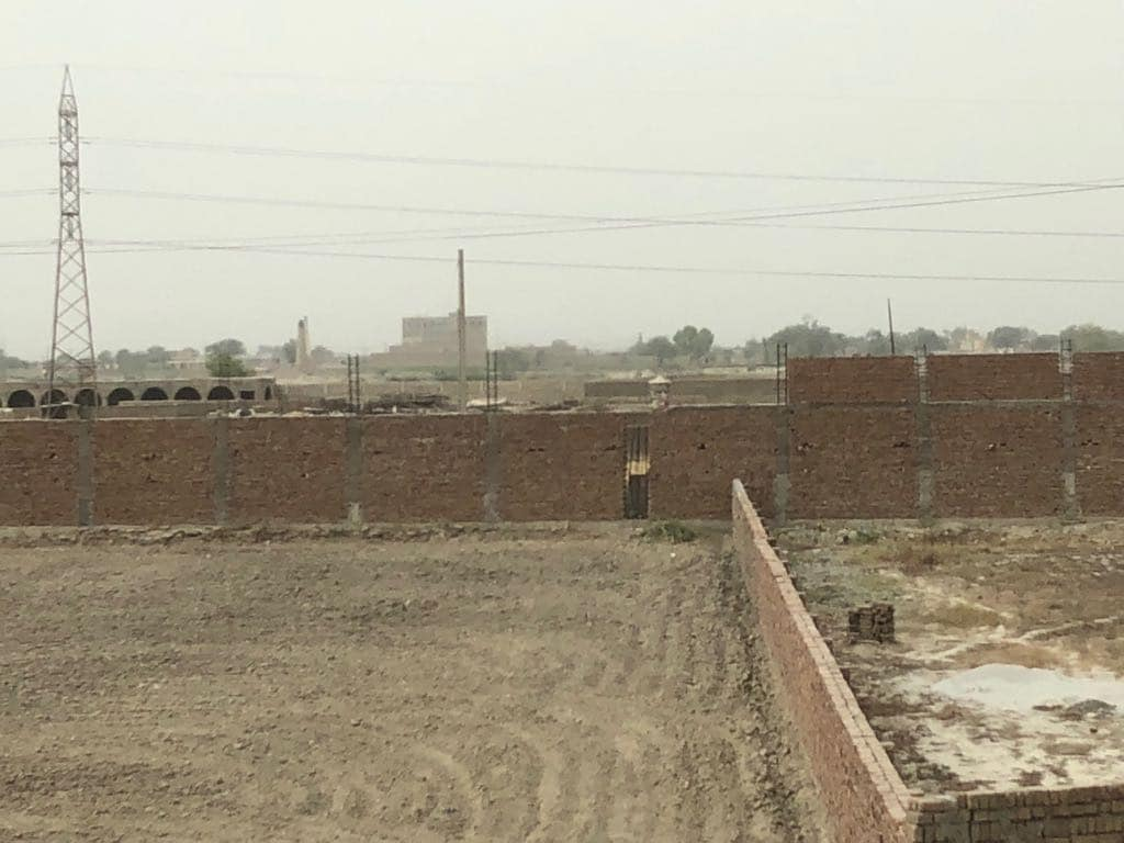 Work underway at new Jaish-e-Mohammed seminary in Bahawalpur, Pakistan. Image courtesy: Firstpost