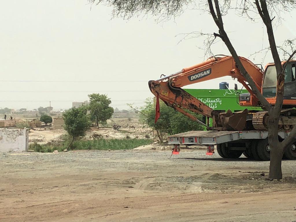 Work underway at new Jaish-e-Mohammed seminary in Bahawalpur, Pakistan. Image courtesy: Firstpost